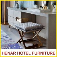 Buy cheap MDF + Veneer Material Hospitality Writing Table Chair / 4 Season Hotel Lobby Furniture from wholesalers