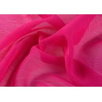 Buy cheap Flower Design Stripy Polyester Chiffon Fabric Shrink Resistant 30d * 30d from wholesalers
