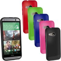 Buy cheap Customized Green Glossy TPU Gel HTC Cell Phone Case for HTC One Mini 2 from wholesalers