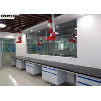 Buy cheap School Chemical Steel Lab Furniture , Hanging Cabinet Lab Tables Work Benches from wholesalers