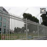 Buy cheap 1.8X2.5m Garrison Steel Picket Fence Panel | Steel Picket Fence Factory from wholesalers
