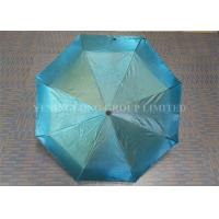 Chameleon Shinning Fabric Windproof Folding Umbrella For Sun Protection
