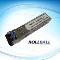 Buy cheap Switch Interface 1550nm GE 1000BASE-ZX SFP Transceiver Module With SONET OC-24-LR-1 product