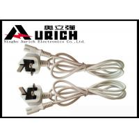 Buy cheap 250v 13A BS1363 UK Power Cord 3 Pin For Home Appliance Custom Length from wholesalers