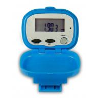 Buy cheap 12/24 hourtime display, 3-one button flip pedometer SP-0708 with alarm, stopwatch function product