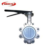 Buy cheap api 609 lug type butterfly valve dn100 pn16 from wholesalers