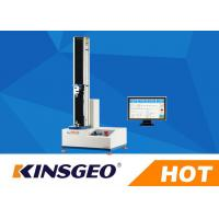 Buy cheap 60kg Peel Adhesion Test Equipment , Tensile Testing Machine For Plastic Packaging Films from wholesalers