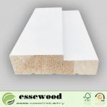 Buy cheap Wholesale Custom Wood Door F/J Primed Wood Door Jamb Frame Moulding from wholesalers