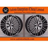 Buy cheap Susha Wheels - Customized 19inch 18inch Black Forged Wheels / Mazda Auto Wheels Rims product