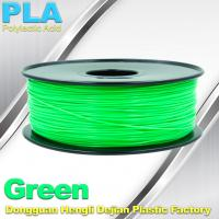 Buy cheap High Strength Desktop 3D Printer Consumables PLA  Filament 1.75mm /  3.0mm from wholesalers