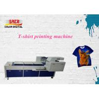Buy cheap 8 Colors High Speed Printing Tee Shirt Printer A3 Machine Automatic 2065 * 1705 * 1240mm from wholesalers