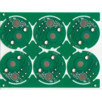 Buy cheap Round Impedance Control Multilayer PCB Board V-Score With 1OZ Copper Thickness from wholesalers