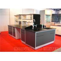 Buy cheap All Steel Structure Modular Laboratory Furniture Chemical Resistant Table Top from wholesalers
