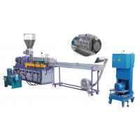 Buy cheap Parallel twin screw/double screw strand pelletizing/granulation line/equipment/machinery product