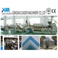 Buy cheap High impact PMMA plastic acrylic sheet extruding machine from wholesalers