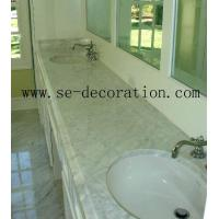 Buy cheap bianco carrara marble vanity top from wholesalers