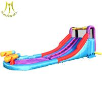 Buy cheap Hansel fair attractions names of amusement park equipment inflatable water slide for sale from wholesalers