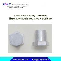 Buy cheap KYLT Buje Automotriz Negativo &Positivo LEAD alloy terminals for Lead acid battery product