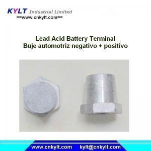 Buy cheap KYLT Buje Automotriz Negativo &Positivo LEAD alloy terminals for Lead acid battery product