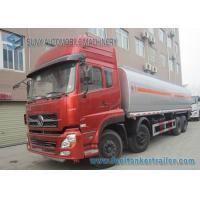 Carbon Steel 270hp 40m3 Diesel / Water / Oil Tank Trailer Truck 8x4