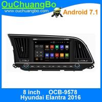 Buy cheap Ouchuangbo 8 autoradio multimedia stereo android 7.1 for Hyundai Elantra 2016 with reverse camera Bluetooth Phone from wholesalers
