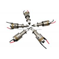 Buy cheap 60Khz 100w Ultrasonic Transducer With Titanium Booster , Micro Ultrasonic Transducer from wholesalers