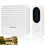 Buy cheap Portable Waterproof Long Distance Wireless Doorbell Solar Powered Doorbell 200-300M from wholesalers
