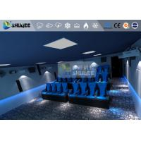 Buy cheap 12 Seats 6D Movie Theater Mini Luxury Leather Motion Chairs 5.1 audio system product