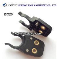 Buy cheap Black ISO20 Tool Holder Clips Plastic CNC Tool Forks for ATC CNC Machines from wholesalers
