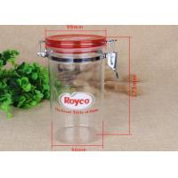 Buy cheap Food Grade Airtight Canister Clear Plastic Cylinder For Storage Packaging from wholesalers