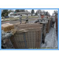Buy cheap Hesco Barrier Welded Gabion Baskets Zinc Aluminum Alloy Coated For Military Bastion from wholesalers