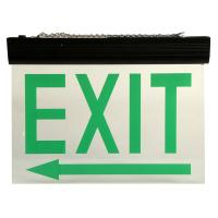Buy cheap Automatic Maintained Double Sided Exit Signs For Ceiling Surface Suspended from wholesalers