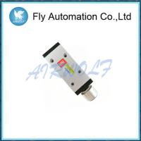 Buy cheap Metallic Hand Pneumatic Manual Control Valve 5/2 Way 0.1 - 0.7 Mpa Pressure from wholesalers
