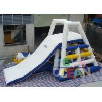 Buy cheap 0.9 PVC Sea Beach Inflatable Water Toys , Floating Water Tower Slide Combo With Tower Climbing Aqua Game from wholesalers