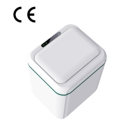Buy cheap 1800mAH 5V/1A Rechargeble 10L intelligent waste trash can Touchless With UV Light from wholesalers