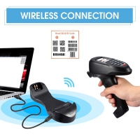 Buy cheap NS7108 ABS 2.4GHz 1D Laser Barcode Scanner from wholesalers