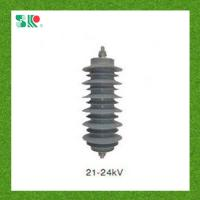 Buy cheap 10ka IEC60099-4 Standard 24kv Lightning Surge Arrester from wholesalers