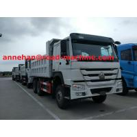 Buy cheap White color RHD Heavy Duty Dump Truck 6X4 Drive Type 15M3 30T load capacity from wholesalers