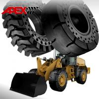 Buy cheap APEX 17.5-25 Solid Tire, Cushion Tyre for Wheel Loader, Integrated Tool Carrier, Elevating Motor Scraper from wholesalers