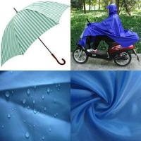 Buy cheap 210T Waterproof Fabric for Outdoor from wholesalers