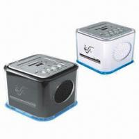 Buy cheap SD/MMC and USB Card Reader Speakers with FM Radio product