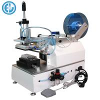 Buy cheap Semi Automatic Bag Labeling Machine HL-T-100 For Socks PET Bag from wholesalers