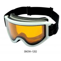 Buy cheap Dual Lens Skiing Goggles Helmet Compatible Skiing Snow Glasses With Tpu Flexible Frame from wholesalers
