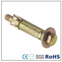 Buy cheap Color Zinc Plated Expansion Anchor Bolts For Building , Stainless Steel Screws from wholesalers