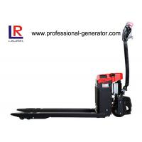 Buy cheap DC Controlled Warehouse Material Handling Equipment Narrow Aisle Electric Pallet Truck from wholesalers