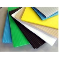 Buy cheap White / Black / Blue 4mm corrugated plastic sign board Coroplast Sheets from wholesalers