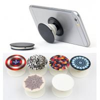 Buy cheap 2017 Trendy 3M Adhernsive Silicone Mobile Phone Holder Stand Pop Grip Socket With Car Holder , Many Pattern Design Stock from wholesalers