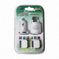 Buy cheap Charger with Cable, Suitable for iPad, iPhone 4/3/3S and Samsung P1000 from wholesalers