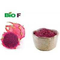 Buy cheap Beverage Additives Red Dragon Fruit Powder Rich Minerals Solvent Extraction from wholesalers