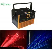 Buy cheap 3W /4W / 5W  RGB Laser Stage Lighting Can Show Number And Letters Function from wholesalers